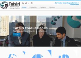 tafsiritraducciones.com.mx
