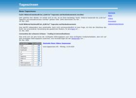 tageszinsen.info