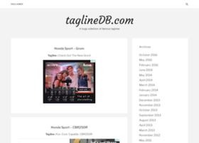 taglinedb.com