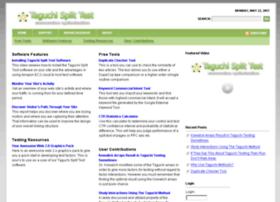 taguchisplittest.com