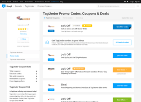 tagunder.bluepromocode.com