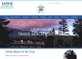 tahoebeachandski.com