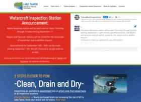 tahoeboatinspections.com