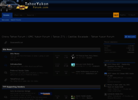 tahoeyukonforum.com