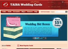 taibaweddingcards.com