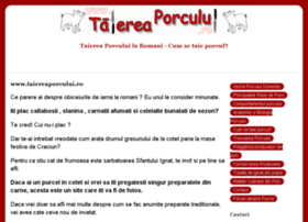 taiereaporcului.ro