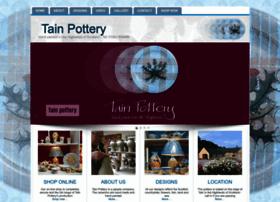 tainpottery.co.uk
