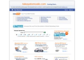 takayatomoaki.com