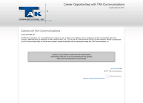 takcommunications.hrmdirect.com