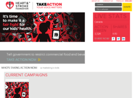 takeaction.heartandstroke.ca