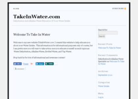 takeinwater.com
