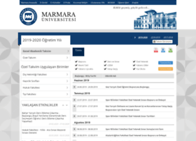 takvim.marmara.edu.tr