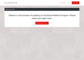 talbots.employeereferrals.com