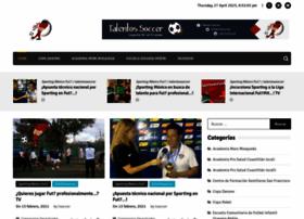 talentossoccer.com