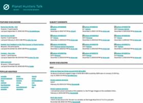 talk.planethunters.org