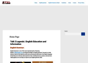 talk2legends.com