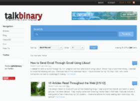 talkbinary.com