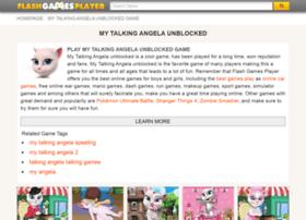 talking-angela.flashgamesplayer.com