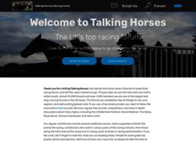 talkinghorses.co.uk