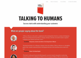 talkingtohumans.com
