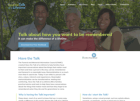 talkofalifetime.com