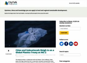 talkofthecities.iclei.org
