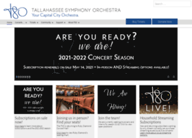 tallahasseesymphony.org