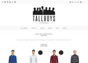 tallboysapparel.com
