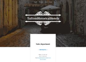 tallinnhistoricalhotels.com