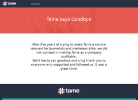 tame.it