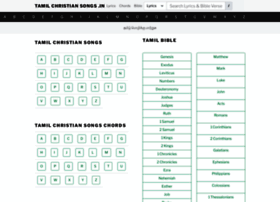 tamilchristiansongs.org