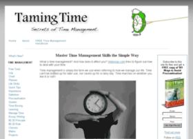 tamingtime.com