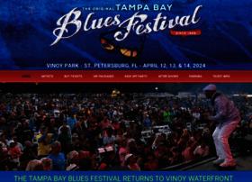 tampabaybluesfest.com