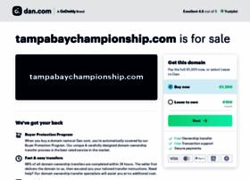 Tampabaychampionship.com