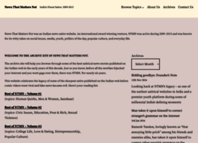 tanay.newsthatmattersnot.com