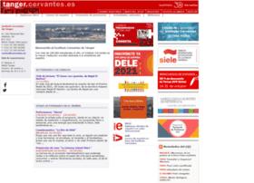 tanger.cervantes.es