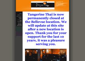 tangerinethaicuisine.com