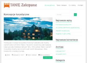 tanie-zakopane.info