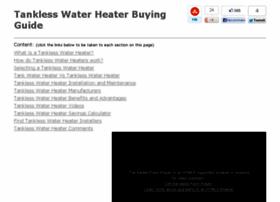 tanklesswaterheaterguide.com