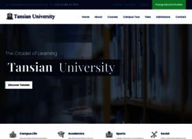 tansianuniversity.edu.ng