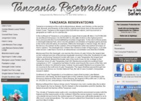 tanzaniareservations.com