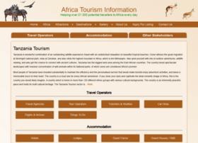 tanzaniatourism.info