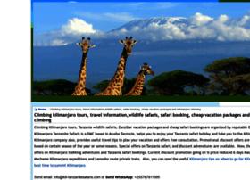tanzaniatravel.wiki.zoho.com