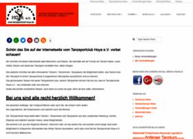 tanzsportclub-hoya.de