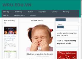 tapchivatuyentap.wru.edu.vn