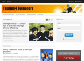 tapping4teenagers.com