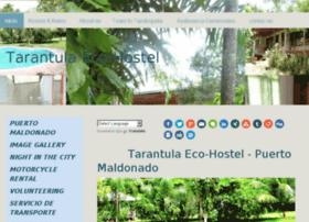 tarantulahostel.jimdo.com