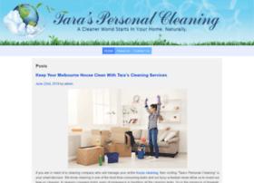 taraspersonalcleaning.com