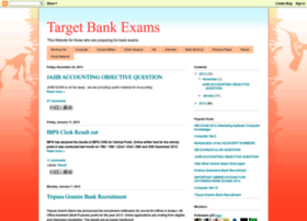 targetbanking.blogspot.in