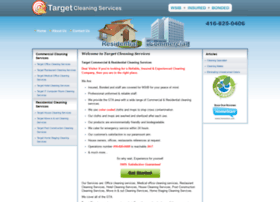targetcleaningservices.com
